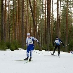 19. Tallinna Suusamaraton - Alar Lehesmets (151), Risto Klaassen (163)