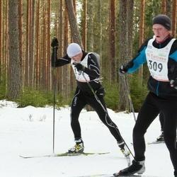 19. Tallinna Suusamaraton - Kalev Albri (166), Frank Johan Ojarand (309)