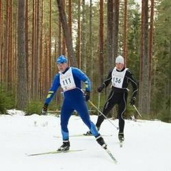 19. Tallinna Suusamaraton - Arno Anton (111), Marek Järve (136)