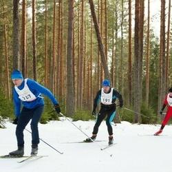 19. Tallinna Suusamaraton - Tarvo Treier (167), Indrek Saar (191), Ergo Mikkor (264)