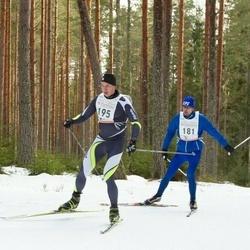 19. Tallinna Suusamaraton - Marek Säälik (181), Indrek Alliksaar (195)