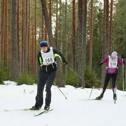 19. Tallinna Suusamaraton - Jürgo Raid (168), Jan Raudsepp (318)