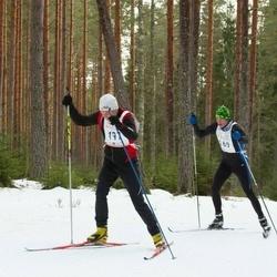 19. Tallinna Suusamaraton - Mart Vernik (169), Valde Viiding (197)