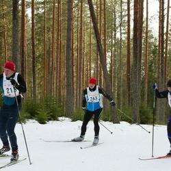 19. Tallinna Suusamaraton - Richard Leemits (213), Silver Kroon (263)