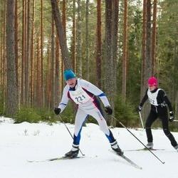 19. Tallinna Suusamaraton - Kristi Kelgo (202), Juhan Änilane (221)