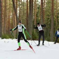 19. Tallinna Suusamaraton - Signe Seškena (240), Vello Voolaid (243)