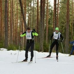 19. Tallinna Suusamaraton - Toomas Hiielaid (330), Tarmo Kalviste (331)