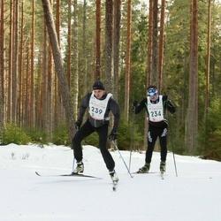 19. Tallinna Suusamaraton - Alvar Leola (234), Einar Tooming (239)