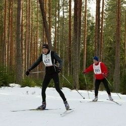 19. Tallinna Suusamaraton - Urmas Väärtnõu (303), Priit Lepmets (637)