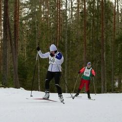 19. Tallinna Suusamaraton - Greta-Maria Pisarev (603), Helve Kansi (648)