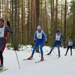 19. Tallinna Suusamaraton - Ago Veilberg (28), Üllar Lillmets (31), Jevgeni Voloshin (63)