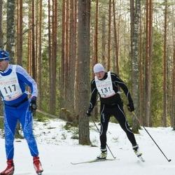19. Tallinna Suusamaraton - Hanno Traks (100), Raivo Terve (117), Olivar Kits (131)