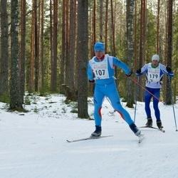 19. Tallinna Suusamaraton - Valdek Rohtma (107), Lauri Tikk (179)