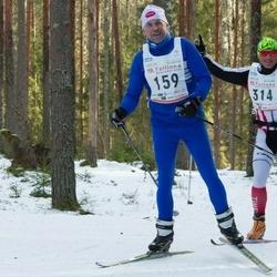 19. Tallinna Suusamaraton - Ermo Veelain (159), Indrek Tulp (314)