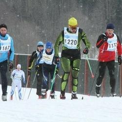44. Tartu Maraton - Kalle Karrofeldt (1132), Artur Gornischeff (1167), Pavel Kirilovsky (1220)