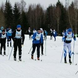 44. Tartu Maraton - Harro Rannamets (1155), Mihkel Arro (1491), Tarvo Jõgi (1502)