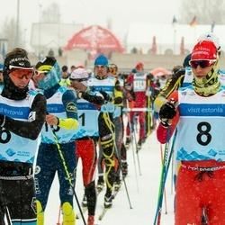 44. Tartu Maraton - Loic Guigonnet (6), Bastien Poirrier (8)
