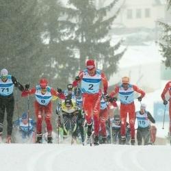 44. Tartu Maraton - Toni Livers (2), Benoit Chauvet (7), Bastien Poirrier (8), Kein Einaste (71)
