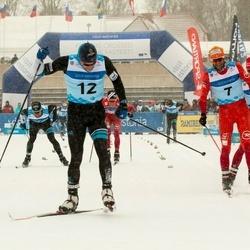 44. Tartu Maraton - Benoit Chauvet (7), Bastien Buttin (12)