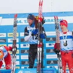 44. Tartu Maraton - Benoit Chauvet (7), Bastien Poirrier (8), Bastien Buttin (12)