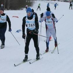 44. Tartu Maraton - Tõnis Räim (1243), Eerik Lossmann (1407), Arne Sammel (1592)
