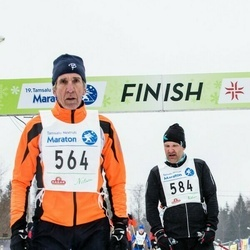 19. Tamsalu-Neeruti Maraton (Matk) - Bruno Münter (564), Teet Ruuval (584)
