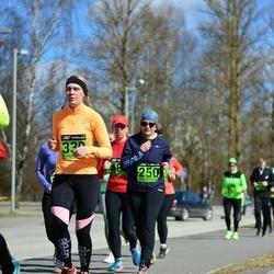 Tartu Parkmetsa jooks - Piret Liim (250), Age Veemees (330)