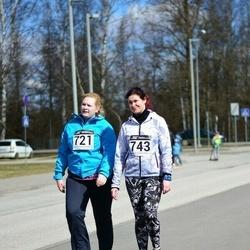 Tartu Parkmetsa jooks - Maarja Sõrmus (721), Merily Unuks (743)