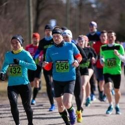 Tartu Parkmetsa jooks - Kaspar Songisepp (256), Jolanta Liepina (432)