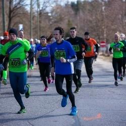 Tartu Parkmetsa jooks - Urmas Liin (364), Lauri Räbin (409)