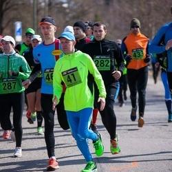 Tartu Parkmetsa jooks - Janek Sumberg (41), Kairi Ustav (287), Talis Nurk (379)