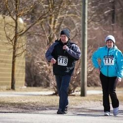 Tartu Parkmetsa jooks - Tiiu Illus (717), Ants Illus (718)
