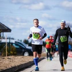 Tartu Parkmetsa jooks - Aivar Lankov (98), Kaido Saar (182)
