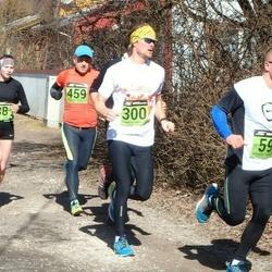 Tartu Parkmetsa jooks - Katrin Selin (38), Andre Kaaver (59), Taavi Kork (300), Lauri Enn (459)