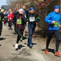 Tartu Parkmetsa jooks - Ahto Jaska (153), Kelly Kangur (173), Aare Kiik (735)