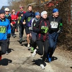 Tartu Parkmetsa jooks - Kelly Kangur (173), Marko Pille (471), Aare Kiik (735)