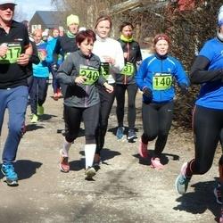 Tartu Parkmetsa jooks - Sandra Pärnpuu (140), Agnes Siniorg (240)