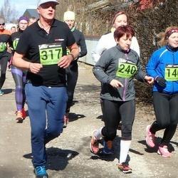 Tartu Parkmetsa jooks - Sandra Pärnpuu (140), Agnes Siniorg (240), Reido Pohla (317)