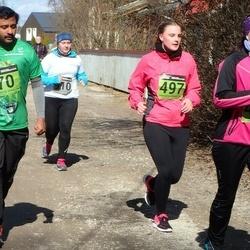 Tartu Parkmetsa jooks - Arooran Kanagendran (70), Pille-Riin Kahro (497)