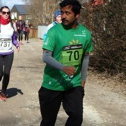 Tartu Parkmetsa jooks - Arooran Kanagendran (70), Anni Roosalu (737)