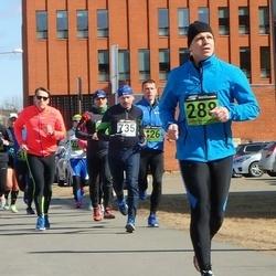 Tartu Parkmetsa jooks - Vambola Lauk (288), Aare Kiik (735)