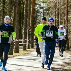Tartu Parkmetsa jooks - Jaanus Lauk (244), Aare Kiik (735)