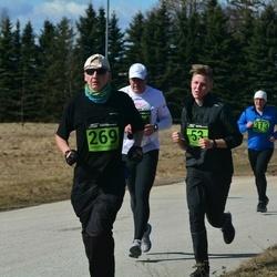 Tartu Parkmetsa jooks - Klaus-Erik Kurvits (53), Jaan Õmblus (269)