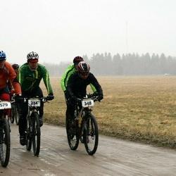 Kuusalu Rattamaraton - Valmer Stalkov (234), Raul Seegel (348), Aivar Arik (579)