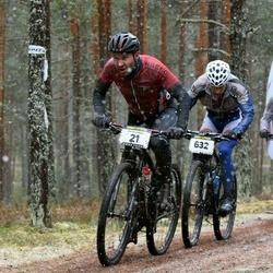 Kuusalu Rattamaraton - Peeter Poopuu (21), Mihkel Kalja (632)
