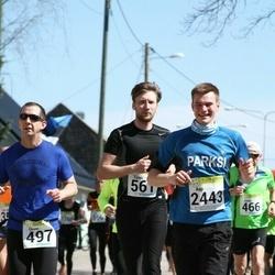 88. Suurjooks ümber Viljandi järve - Tõnis Trummal (561), Aap Allmägi (2443)