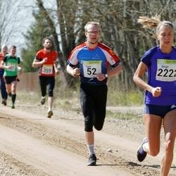 88. Suurjooks ümber Viljandi järve - Taavi Kala (52), Birgit Pihelgas (2222)