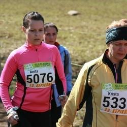 88. Suurjooks ümber Viljandi järve - Anita Semjonova (5076), Krista Pass (5339)