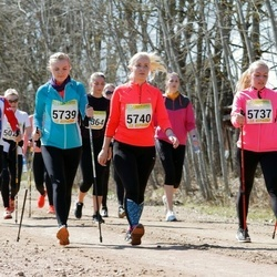 88. Suurjooks ümber Viljandi järve - Siret Pitkart (5739), Agne Viira (5740)