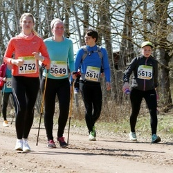88. Suurjooks ümber Viljandi järve - Aet Kiivet (5613), Hannes Kiivet (5614), Pille Pärn (5649), Kadri Joosu (5752)